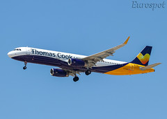 G-TCVC Airbus A321 Thomas Cook (@Eurospot) Tags: ltai antalya gtcvc airbus a321 thomascook 6059 gzbam