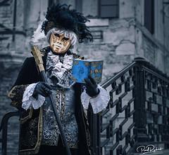 """There's Theatre In Life and There's Life In Theatre"". (_Anathemus_) Tags: venice venezia italy italia carnival 2018 carnevale costume mask nikon d750 portrait"