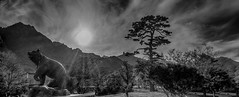 Seoraksan National Park (South Korea. Gustavo Thomas © 2019) (Gustavo Thomas) Tags: seoraksan nationalpark park southkorea sokcho asia korean nature bear mono monochrome pano bnw blancoynegro blackandwhite travel adventure voyager sky clouds