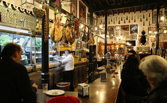 A peek in a traditional tapas bar in Sevilla (B℮n) Tags: sevilla seville spain landmark fountains pavilions film andalusiaandaluciaoliveshistoricbuildingspondswallsbenchesspain'sfamousopensquarefilmedspanje50favestopf501929wellknownaníbal gonzálezarchitecturearchitecturalmasterpiecemonumentdecoratedceramic tilesyounganakinpadmémaría luisa parkunescoheritagesitehorsedrawncarriagetransportcentremoorishhorsepaardenkoetscathedralgiraldatowergothicroyal alcazarsalcázar sevillealcázarpalaceroyalrealesalcázaresdereales alcázares de sevillapatio las doncellas courtyardroyal palacegiraldo towerorangesorangepatio los naranjos sinaasappelbomen flamenco dance tradition cultural centro casadelamemoria centroculturalflamenco traditional theater dancing romance romantic tapeo tapasbarcrawl wines vermut social life evening standing bar culture crowded homemade packed culinair food drink locals cafébar restaurant 50faves topf50