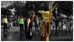 Carnaval Civil War (yanuarpotret) Tags: streetphotography landscape carnaval hero indonesia surakarta art wayang
