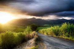Coucher de soleil sur les montagnes (Livith Muse) Tags: paysage montagne soleil nuage lamentin guadeloupe dxo hdr hdrefexpro2 profilprofond1 dxophotolab2 sunset sun rayon ray sunray storm tempête cloud 20mm outremer mirrorless μ43 micro43 panasonic lumix gf6 lumixgvario1442f3556ii panasonic1442mmf3556ii basseterre