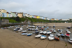 Photo of Tenby, Wales.