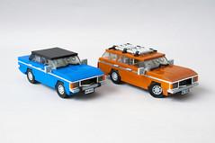 Ford Granada MK1 Sedan, Kombi (01) (Mateusz92) Tags: lego afol moc car ford granada mk1 zbudujmy to