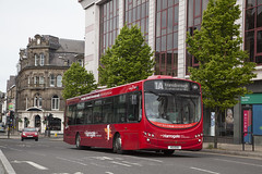 YOR_126 (Stuart's Transport) Tags: harrogatebuscompany transdev bus singledeck uk volvob7rle wrighteclipseurban2 wrightbus northyorkshire 1a