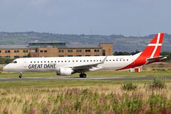 OY-GDA_02 (GH@BHD) Tags: oygda embraer erj195 erj195200lr greatdaneairline belfastcityairport gde erj regionaljet aircraft aviation airliner bhd egac