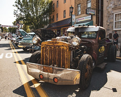 A Mind on Display (trainmann1) Tags: nikon d7200 nikkor 18200mm amateur handheld pa pennsylvania summer july 2019 outside outdoors carshow classiccars classics antique relic car truck show kutztown town smalltown mainstreet ratrod hotrod