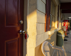 Room 112 (trainmann1) Tags: nikon d7200 nikkor 18200mm amateur handheld pa pennsylvania summer july 2019 lincolnmotel motel door key sunlight outside outdoors kutztown