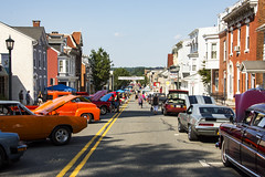 A Small Town Affair (trainmann1) Tags: nikon d7200 nikkor 18200mm amateur handheld pa pennsylvania summer july 2019 outside outdoors carshow classiccars classics antique relic car truck show kutztown town smalltown mainstreet