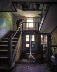 He's coming for you (A_Peach) Tags: flickr 2019 grabowsee laowa light shadow abandoned lumix scary creepy panasonic urbex m43 mft lostplaces lostplace apeach micro43 microfourthird anjapietsch