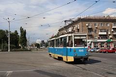 Kamianske (Mat'97) Tags: ktm5 tram tramway tramvaj tramwaj tramcar trams transport kamianske dneprodzerzhinsk dniprodzerzjynsk strassenbahn oekraine ukraine maidan heroiv
