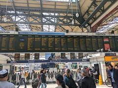 IMG_230 (norway415) Tags: london uk unitedkindom station train wanderlust victoria victoriastation brighton tothesea