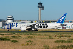 """JA873A - All Nippon Airways - Boeing 787-9 Dreamliner - """"Star Wars - R2-D2"""" special colours (5B-DUS) Tags: ja873a all nippon airways boeing 7879 dreamliner starwarsr2d2 special colours b789 dus eddl dusseldorf düsseldorf international airport aircraft airplane aviation flughafen flugzeug planespotting plane spotting"""