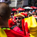 Belgium fans welcoming their team in Brussels after the World Cup 2018