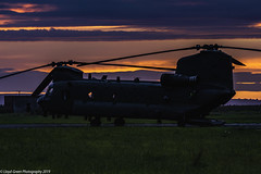 Chinooks Lifter 01 & 02 Pembrey Airport 14-08-2019 (Lloyd - Green) Tags: chinook helicopter raf aircraftphotography avationphotography pembreyairport photography photographycarmarthenshirewalescanoncanon pembrey carmarthenshire wales canon