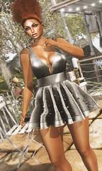#938 (ღMandarine12ღ) Tags: purepoison vanityhair supernatural emoji pose catwa head bento maitreya body mesh avatar virtual girl mode fashion blog blogger sl secondlife