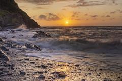 Ceredigion Coast (dannie843) Tags: wales leefilters nikon ceredigion sunset sea
