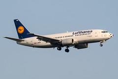 D-ABXN (PlanePixNase) Tags: frankfurt fra eddf airport aircraft planespotting boeing 737 737500 b735 lufthansa