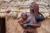 (M00k) Tags: namibia indigenous himba village mother child