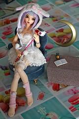 Sera Magical girl moment ♪ (Mei') Tags: minifee chloe mnfchloe mnf fairyland fairy land magical girl card captor sakura weapon moon shojo bjd ball jointed doll dolls active line