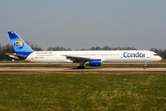 D-ABOM (PlanePixNase) Tags: aircraft airport planespotting haj eddv hannover langenhagen condor 757 757300 boeing b753
