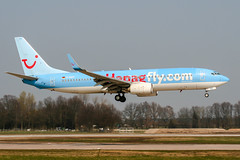 D-AHFF (PlanePixNase) Tags: aircraft airport planespotting haj eddv hannover langenhagen boeing 737800 737 b738 tui tuifly hapaglloyd hapagfly