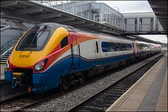 East Midlands Trains 222101 (Mike McNiven) Tags: eastmidlandstrains stagecoach eastmidlandsrailway abellio emrintercity sheffield london stpancras derby meridian dmu diesel multipleunit bombarider