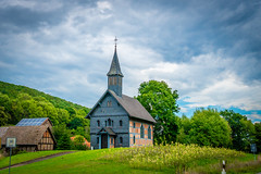 Sunday Church (Frank KR) Tags: church kirche sunday sonntag germany deutschland clouds wolken sonne sun simplysuperb sony sonya6300 24mm