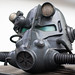 3D printed helmet from Fallout game series