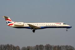 G-EMBL (PlanePixNase) Tags: aircraft airport planespotting haj eddv hannover langenhagen british britishairways embraer 145 e145