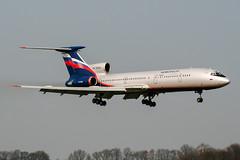RA-85641 (PlanePixNase) Tags: aircraft airport planespotting haj eddv hannover langenhagen aeroflot tupolev tu154 t154 tu5