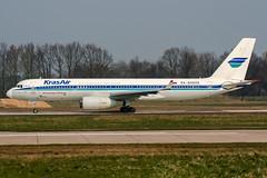 RA-64020 (PlanePixNase) Tags: aircraft airport planespotting haj eddv hannover langenhagen krasair tupolev tu204 t204