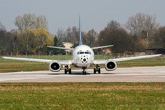 D-ABXN (PlanePixNase) Tags: aircraft airport planespotting haj eddv hannover langenhagen boeing 737 737500 b735 lufthansa