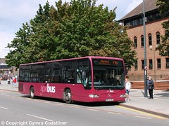 Your Y59 to Ilkeston (Cymru Coastliner) Tags: yourbus mercedesbenz citaro 3032 bf60oez bus derby ghacoaches