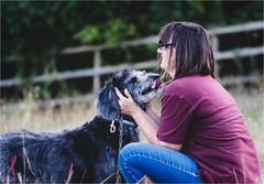 Meet and Greet (Fitzpaine) Tags: dog bestfriend bestfriends staplefitzpaine somerset westcountry england uk cuddle xt2 fujifilmxt2 davidjdalley happy happiness