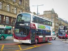 Lothian Buses 1142 (LX11CVY) - 16-08-19 (peter_b2008) Tags: londoncentral volvo lothianbuses goahead b9tl buses edinburgh transport wright coaches 1142 buspictures eclipsegemini2 lx11cvy wvl397
