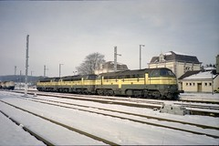 Virton fin décembre 1999 (james.arnould) Tags: virton nohab afb locomotive diesel sncb nmbs serie reek 53
