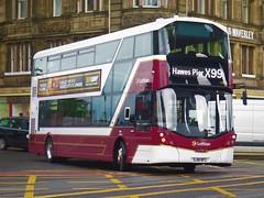 Lothian Buses 1052 (SJ18NFC) - 16-08-19 (peter_b2008) Tags: lothianbuses volvo b5tl wrightbus wright eclipsegemini3 1052 sj18nfc buses coaches transport buspictures