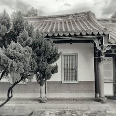 Temple Wet Plate (alex in bkny) Tags: taipei taiwan temple wet plate bw fujifilm xt20 iso4000 16mm f80 1500sec