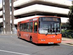 Yorkshire Tiger  617  YJ06LFO (tinies) Tags: yorkshiretiger 617 yj06lfo vdl sb120 wright cadet huddersfield bus