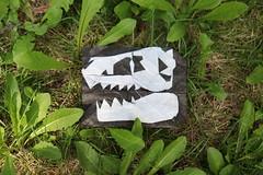 I found a fossil... (ThousandFolds) Tags: origami paper cool art dinosaur skull bones fossil cretaceous kikuchi masato beautiful