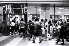 Waiting. (蒼白的路易斯) Tags: transportation 市府轉運站 taipei taiwan 台北 kodaktmax400 yashicaelectro35gsn 底片攝影 底片