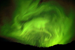 Leaping Bison? (gainesp2003) Tags: aurora borealis northern lights nature science light atmosphere green shapes leaping bison