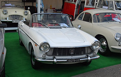 Fiat 1500 spider (1964) // UD-164278 (baffalie) Tags: auto voiture ancienne vintage classic old car coche retro expo italia sport automobile racing motor show collection club course race circuit italie padoue fiera moto bike motorbike motocycle