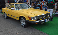 Mercedes Benz 450 SL (1979) // DP-865 ML (baffalie) Tags: auto voiture ancienne vintage classic old car coche retro expo italia sport automobile racing motor show collection club course race circuit italie padoue fiera moto bike motorbike motocycle