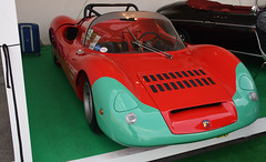 Fiat Abarth 1000 (baffalie) Tags: auto voiture ancienne vintage classic old car coche retro expo italia sport automobile racing motor show collection club course race circuit italie padoue fiera moto bike motorbike motocycle