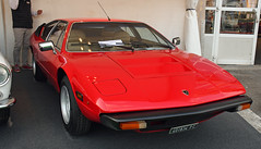 Lamborghini Urraco // PC-401834 (baffalie) Tags: auto voiture ancienne vintage classic old car coche retro expo italia sport automobile racing motor show collection club course race circuit italie padoue fiera moto bike motorbike motocycle