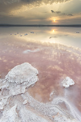 Lagunas de La Mata. Torrevieja. (erligarai) Tags: canoneos6d canon ef1740mmcanon ef1740mm torrevieja salinas atardecer sunset