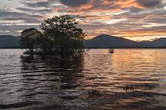 Lochside Blush (http://www.richardfoxphotography.com) Tags: lochlomond thetrossachs loch sunset water scottishhighlands scotland