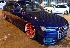 (Uno100) Tags: audi avant volksstyle weeze airport 2019 new blue red